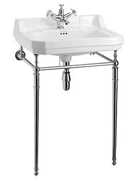 Edwardian Medium Basin With Regal Wash Stand - B4 1TH - T22A