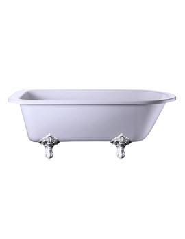 Blenheim Single Ended Bath With Chrome Traditional Legs - E2 - E11 CHR