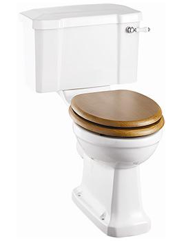 Burlington Regal Close Coupled WC With Ceramic Lever - P12 - C1