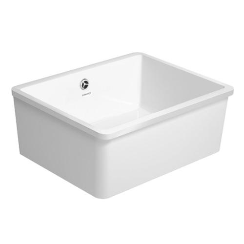 duravit vero 60 xl undercounter 545x445mm kitchen sink 7514550071. Black Bedroom Furniture Sets. Home Design Ideas