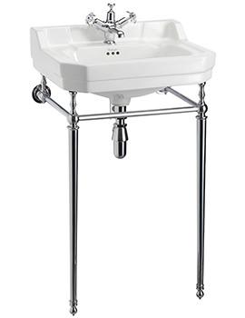 Burlington Edwardian 560mm Medium Basin And Wash Stand - B4 1TH - T22A