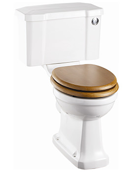 Regal Close Coupled WC With Front Button Cistern - P12 - C2