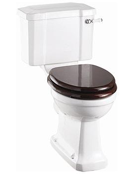 Regal Slimline Close Coupled WC With Ceramic Cistern Lever