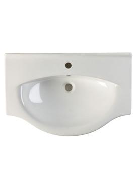 Eden 750mm Ceramic Basin - EDBT750W