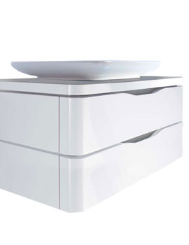 Puravida Basin 700mm on Wall Mounted Vanity 800mm - PV676908585
