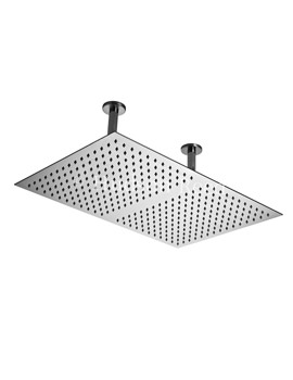 600 x 400mm Ceiling Mounted Shower Head And Arm