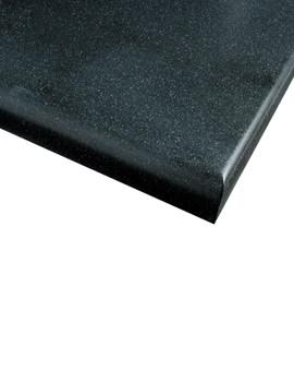 Roper Rhodes Black Granite 624mm Worktop - WT624BG
