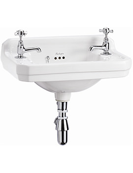 Edwardian Wall Mounted 510mm Cloakroom Basin - B8