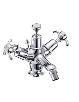 Anglesey Bidet Mixer Tap With Pop Up Waste - AN13