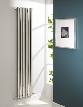 Arc Polished Single Designer Radiator 400 x 600mm - ARS 04 1 060040