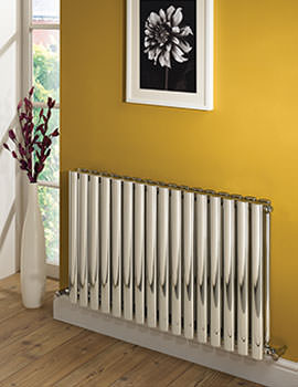 Arc Polished Double Designer Radiator 570 x 600mm - ARD 04 1 060057