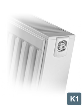 Stelrad Compact K1 Single Convector 600mm Wide x 450mm High Radiator