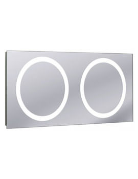 Bauhaus Edge Illuminated Mirror 1200 x 550mm
