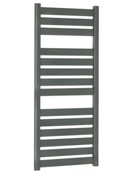 Edge Flat Panel Towel Rail Anthracite 500 x 1150mm