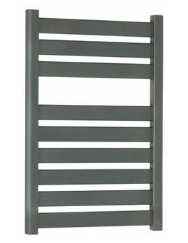 Edge Flat Panel Towel Rail Anthracite 500 x 720mm - ED50X72A