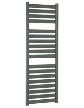 Edge Flat Panel Towel Rail Anthracite 500 x 1420mm