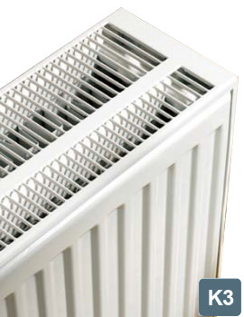 Related Stelrad Compact K3 Triple Convector 1600mm Wide x 700mm High Radiator