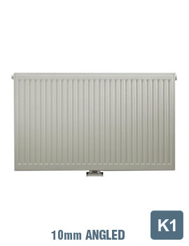 Related Radical K1 Single Convector 400 Wide x 600 High Radiator 10mm Angle