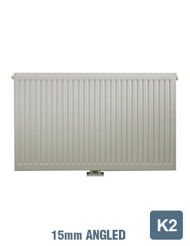 Related Radical K2 Double Convector 500 Wide x 600 High Radiator 15mm Angle
