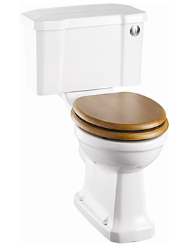 Closed Coupled WC With Front Button Cistern 730mm - P5 - C2