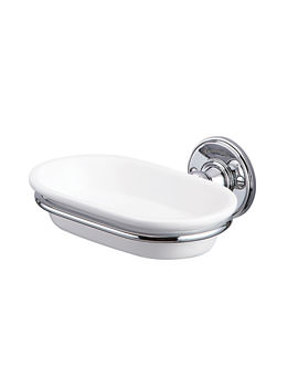 Burlington Soap Dish Chrome Plated - A1 CHR