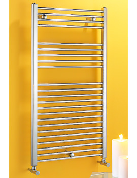 Biasi Dolomite Chrome Straight Heated Towel Rail 300 x 1600mm