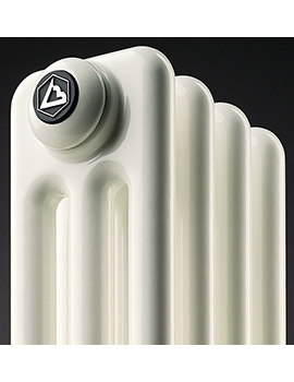 Tubular 4 Column And 13 Sections 598mm x 600mm High Radiator