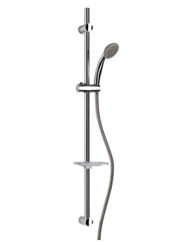 Croydex Uno Flexi-Fit Single Function Shower Set - AM162141