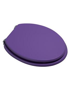 Croydex Purple Coloured Toilet Seat - WL522261