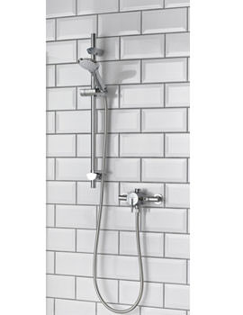 Bristan Sonique Sequential Thermostatic Shower With Adjustable Riser