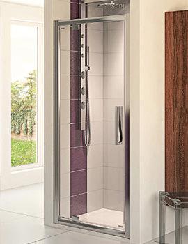 Aqua 8 Glide Pivot Shower Door 900mm - FEN1238AQU