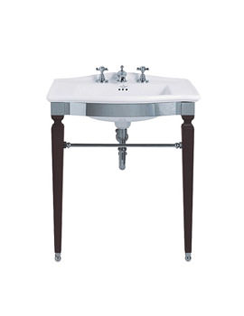 Imperial Westminster Jet Chrome Basin Stand And Westminster Slab Basin