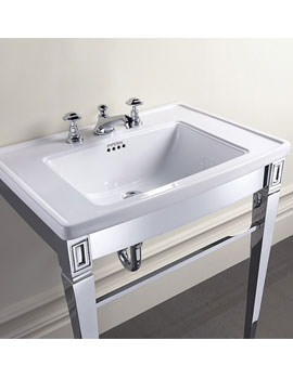 Imperial Adare Basin Stand Chrome - ZXBS1200100