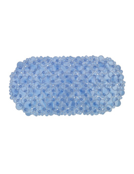 Croydex Bubbles Bath Mat Blue - AH220724