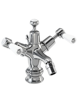 Kensington Regent Bidet Mixer Tap With Pop Up Waste - KER13