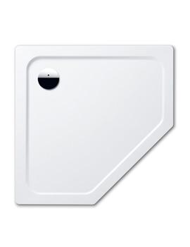 Kaldewei Avantgarde Cornezza 900 x 900 x 25mm Steel Shower Tray White