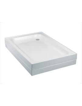 JTMerlin 4 Upstand Rectangular Shower Tray 1000 x 760mm