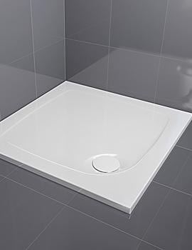 Aqualux Aqua 30 Square Shower Tray 760 x 760mm - FTR0500AQU