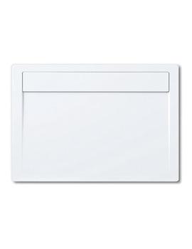 Kaldewei Avantgarde Ladoplan 800 x 1000mm Steel Shower Tray White