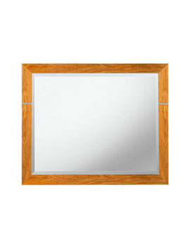 Imperial Cuda 710 x 570mm Mirror Natural Oak - XP39010020