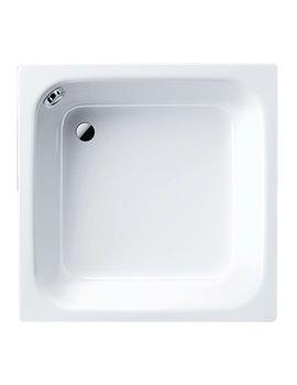 Kaldewei Advantage Sanidusch 900 x 750mm Wide Steel Shower Tray