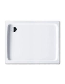 Kaldewei Ambiente Duschplan 1000 x 1000 x 65mm Steel Shower Tray White