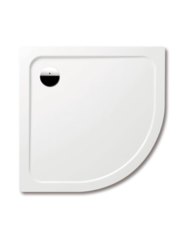 Kaldewei Arrondo 1000 x 1000 x 25mm Quadrant Steel Shower Tray White