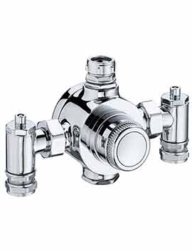 Bristan Gummers 22 Or 28mm Thermostatic Mixing Valve Chrome - TS6000E