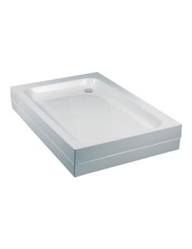 JTBreeze Rectangular Flat Top Shower Tray 1200 x 760mm