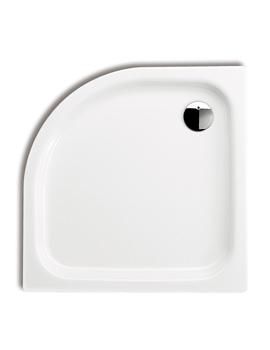Kaldewei Zirkon Offset Quadrant 750 x 900 Steel Shower Tray Left