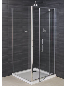 RAK Deluxe 8 Pivot Shower Enclosure Door 900mm - RAK8PIV900