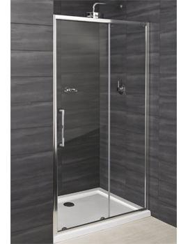 RAK Deluxe 8 Sliding Shower Enclosure Door 1400mm - RAK8SL1400