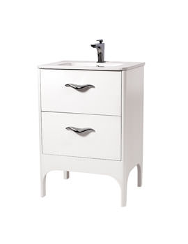 Phoenix Taya 600mm Floor Standing Vanity Unit And Basin - FT60F