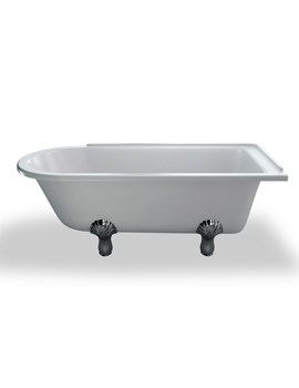 Kensington Traditional Bath 1700mm With White Claw Feet RH